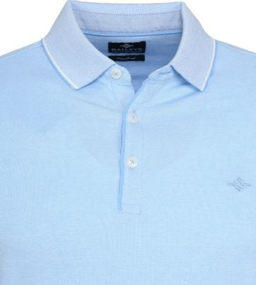 Suitable Melange Poloshirt Lichtblauw