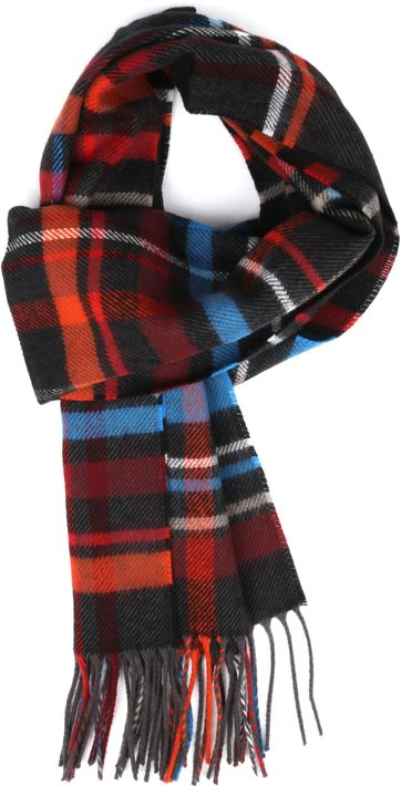 Suitable Men's Scarf Acrylic Checks 20-01