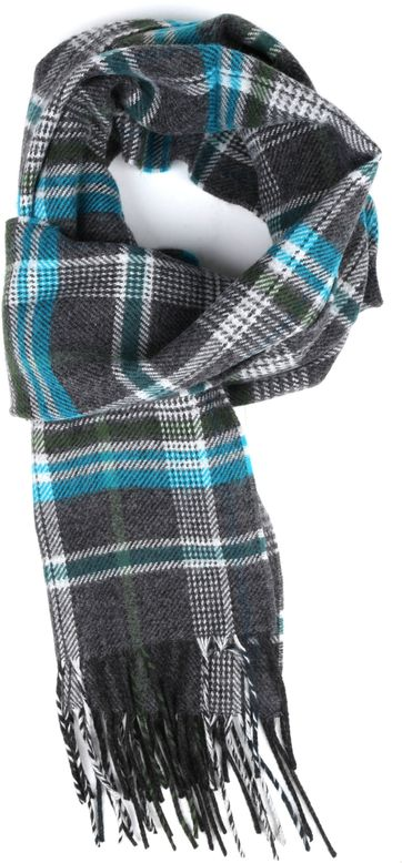 Suitable Men's Scarf Acrylic Checks 20-04