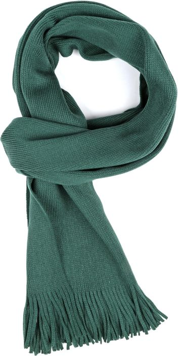 Suitable Men's Scarf Acrylic Green 20-09
