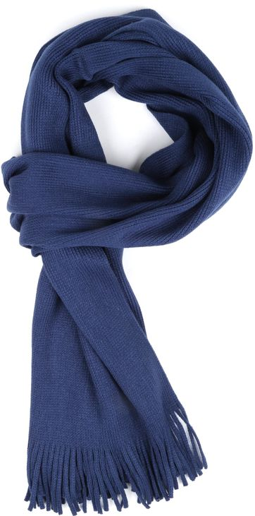 Suitable Men's Scarf Acrylic Navy 20-11