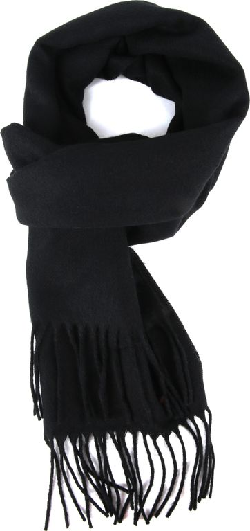 Suitable Men's Scarf Black 19-03