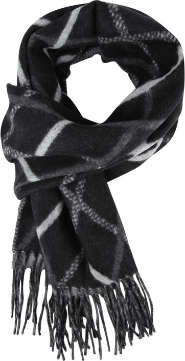 Suitable Men's Scarf Black 19-04
