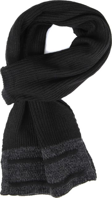 Suitable Men's Scarf Black 19-20