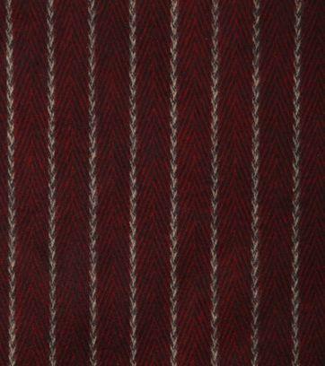 Suitable Men's Scarf Bordeaux Stripes 18-01