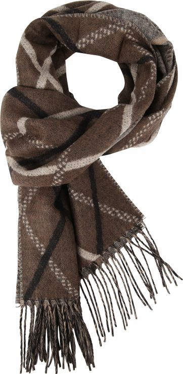 Suitable Men's Scarf Brown 19-08