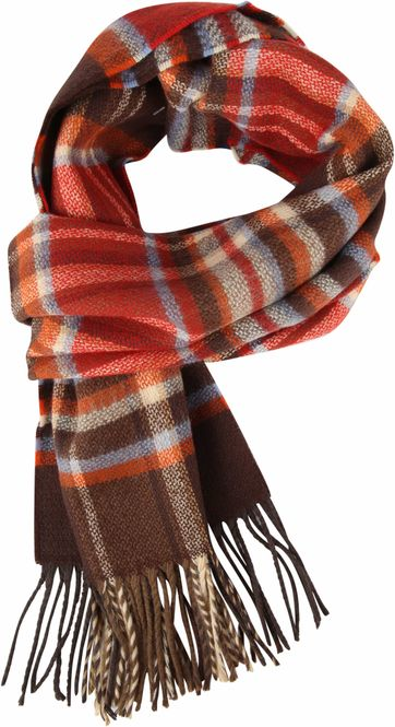 Suitable Men's Scarf Checks 19-10