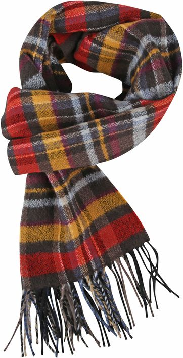 Suitable Men's Scarf Checks 19-12