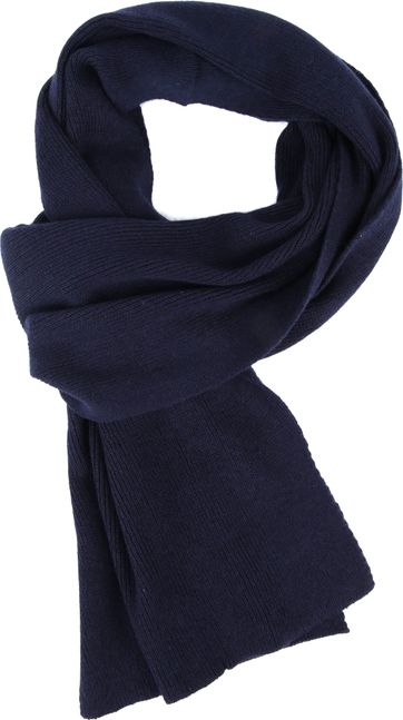 Suitable Men's Scarf Dark Blue 19-01