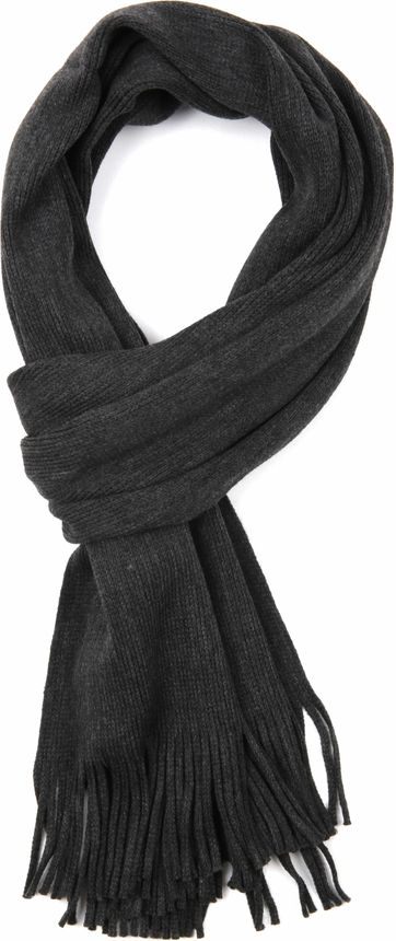 Suitable Men\'s Scarf Dark Grey 18-14