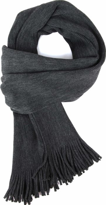Suitable Men's Scarf Dark Grey 19-02