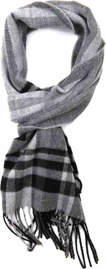 Suitable Men's Scarf Grey Square 18-13
