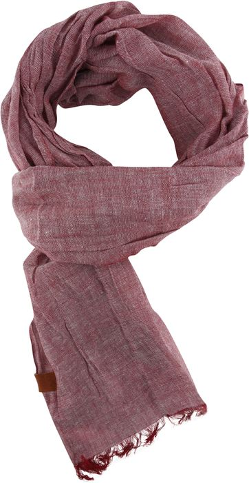 Suitable Men's Scarf Red