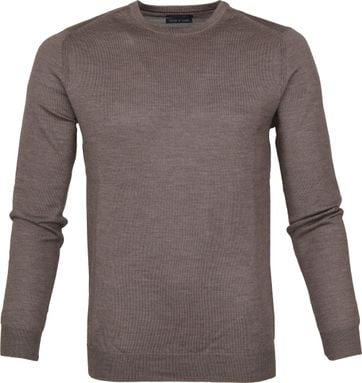 Suitable Merino Pullover Rick Lichtbruin