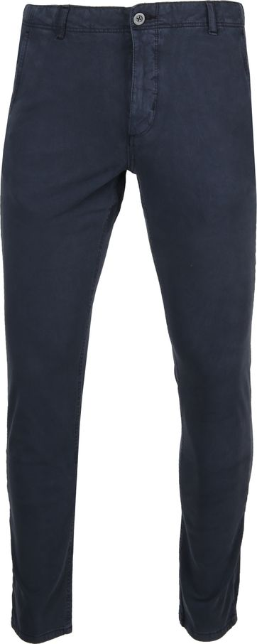 Suitable Milton Skinny-Fit Chino Dark Blue