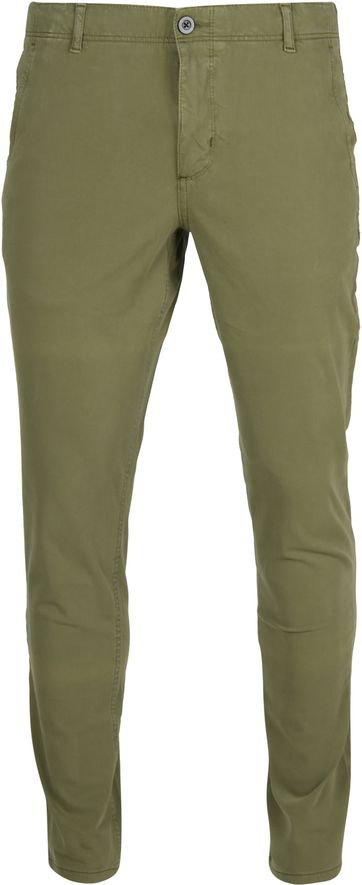 Suitable Milton Skinny-Fit Chino Grün