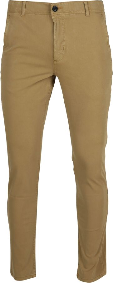 Suitable Milton Skinny-Fit Chino Khaki