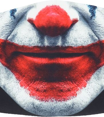 Suitable Mondkapje Print Joker