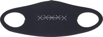 Suitable Mondkapje Print Zwart