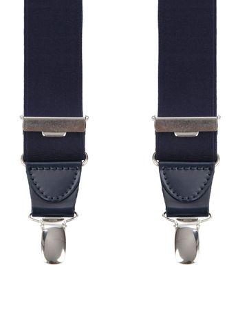 Suitable Navy Suspenders