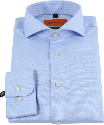 Suitable Non Iron Shirt Blue
