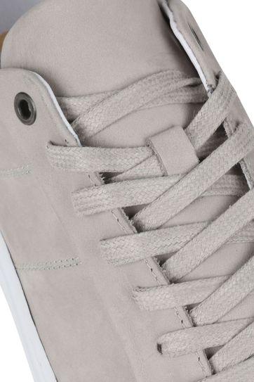 Suitable Nubuck Skave Sneaker Lichtgrijs