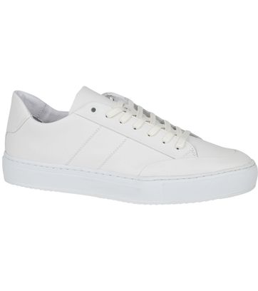 Suitable Nubuck Skave Sneaker Wit