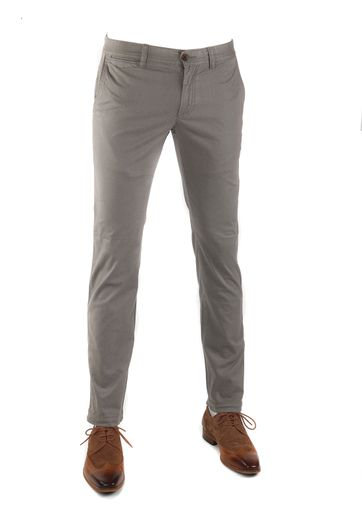 Suitable Oakville Chino Khaki Print