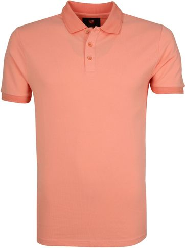 Suitable Oscar Polo Shirt Salmon