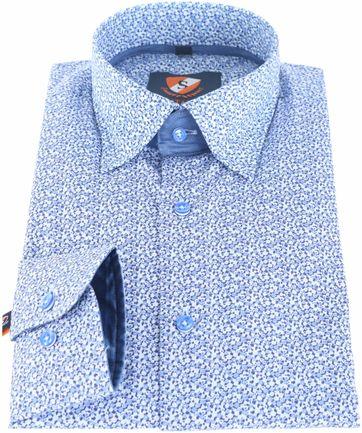 Suitable Overhemd Blauw 145-6
