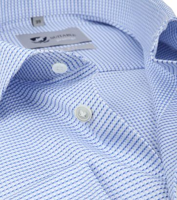 Suitable Overhemd Blauw 187-2