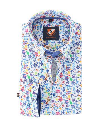 Suitable Overhemd Bloemen 149-6
