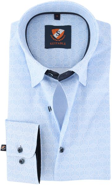 Suitable Overhemd Blue 149-3
