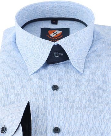 Detail Suitable Overhemd Blue 149-3