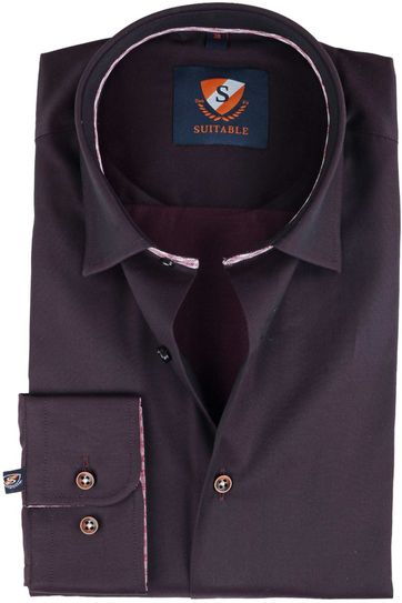 Suitable Overhemd Bruin
