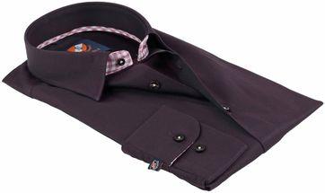 Detail Suitable Overhemd Bruin