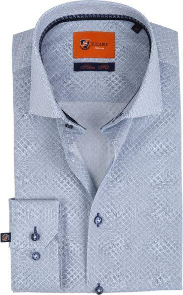 Suitable Overhemd Carre Blue