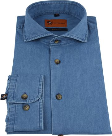 Suitable Overhemd Denim 156-7