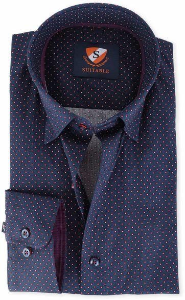 Suitable Overhemd Donkerblauw 134-4