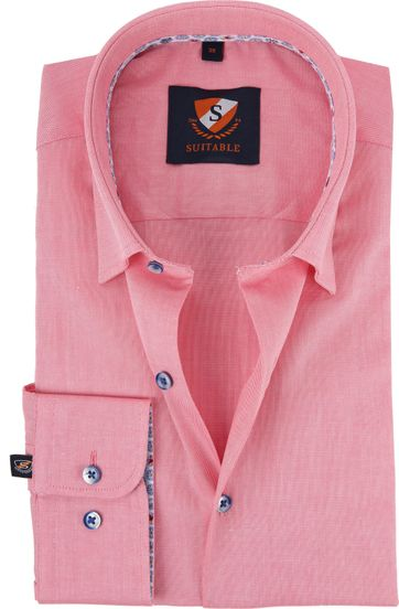 Suitable Overhemd Fuchsia HBD