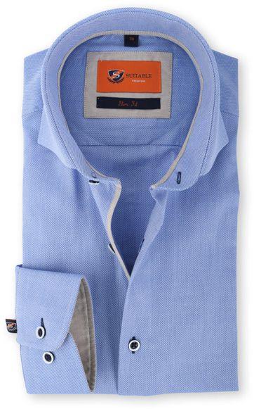 Suitable Overhemd Grijs 128-3
