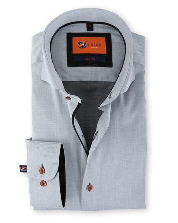 Suitable Overhemd Grijs 128-4