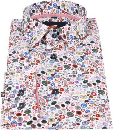 Suitable Overhemd Kristallen Wit