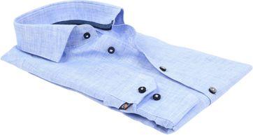 Suitable Overhemd Linnen Blauw D81-12