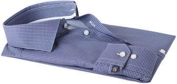 Detail Suitable Overhemd Navy Checks Dot