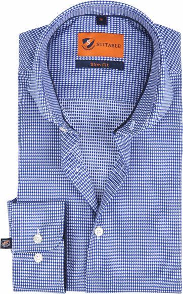 Suitable Overhemd SF Piede De Poule