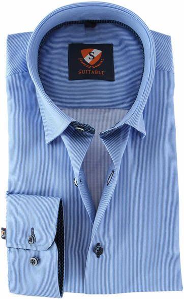 Suitable Overhemd Streep 157-2