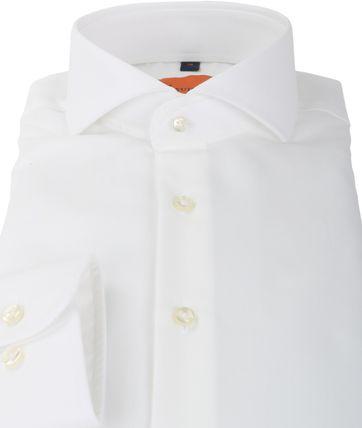 Detail Suitable Overhemd Strijkvrij Wit