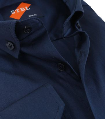 Detail Suitable Overhemd Uni Navy