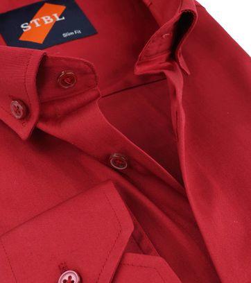 Detail Suitable Overhemd Uni Rood